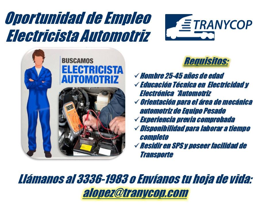 Anuncio Electricista